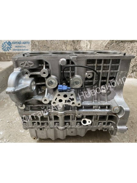 Новый двигатель (шорт-блок) SQR484F, 2.0 л. Chery Tiggo T11 FL (2,0л)